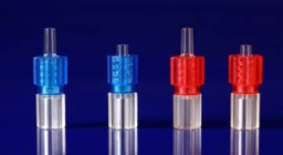 Rotating connector male luer lock